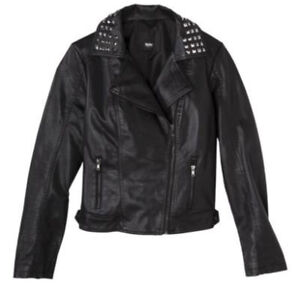 DASH Kim Kardashian Kylie Faux Leather Motorcycle Jacket XXL  2X
