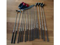 Golf Clubs, full set Made in USA Pro set with Ben Hogan Wedge and Ray Cook putter