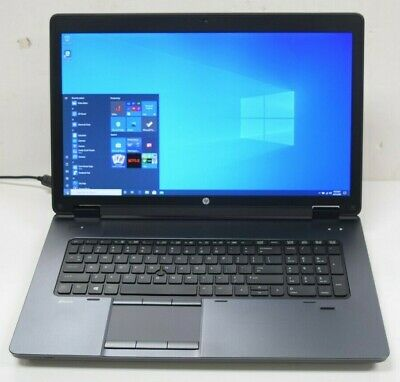 "HP Zbook 17 Gaming Laptop - i7-4700MQ 2.4GHz 24GB 512GB K610M Blu Ray 17"" Screen"