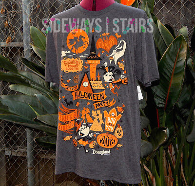 Disneyland Mickeys Halloween Party (MICKEYS HALLOWEEN PARTY 2018 TSHIRT M or L official disneyland disney parks)