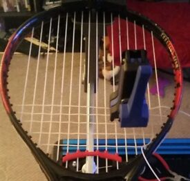 Tennis Racket Restringing Racquet Re String replacement service