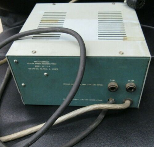Heathkit HP-1144 Power Supply FOR PARTS ONLY