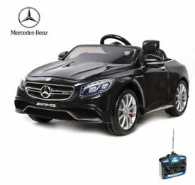 LICENSED MERCEDES S63 AMG RIDE-ON TOY
