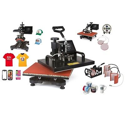 Ship To Worldwide Newest Design 8 In 1 Heat Press Machineheat Presssublimation