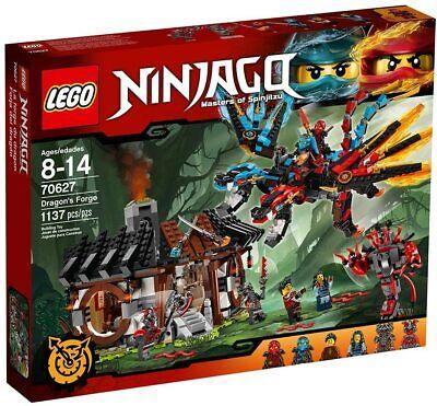 Lego Ninjago 70627 Dragon's Forge w/ 6 minifigs NEW