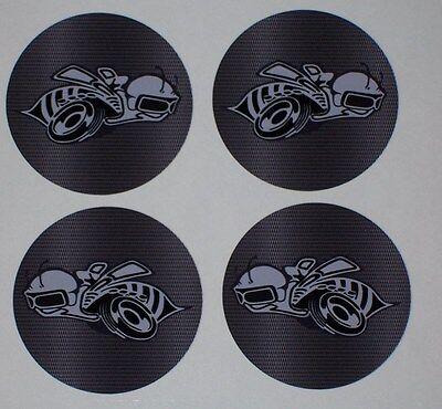 Rumble Scat pack Bee Center cap Wheel Decals Graphics Fit Factory & Aftermarket