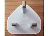 NEW - Genuine Apple USB Power plug (UK)