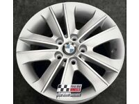 "17"" BMW ORIGINAL BBS POWDER COATING FINISH STYLE 141 ALLOY WHEELS"