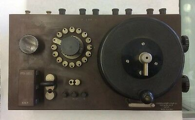 Leeds Northrup Co. Type K Potentiometer
