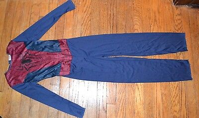 THE AMAZING SPIDER-MAN Costume Boys Sz MEDIUM 7-8 Jumpsuit only Halloween