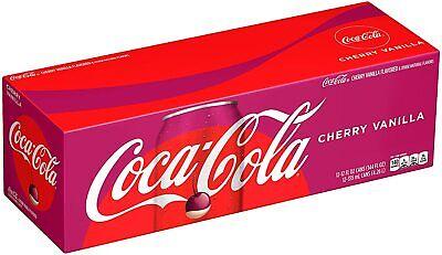 Coca-Cola Cherry Vanilla Soda 355ml 12 Cans