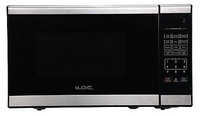 Muave' Epigrammatic Microwave Oven 0.7 Cu. Ft, 120v Stainless-Boat Galley or Kitchen