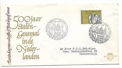 500th ANNIVERSARY OF STATES MEETING TYPED 1964 FDC MY REF 493