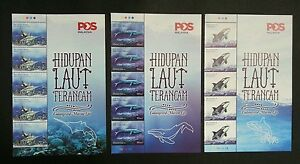 Malaysia Endangered Marine Life 2015 Whale Underwater (stamp with title 3's) MNH