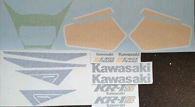 KAWASAKI KR1-S 1990 DECAL KIT  segunda mano  Embacar hacia Argentina