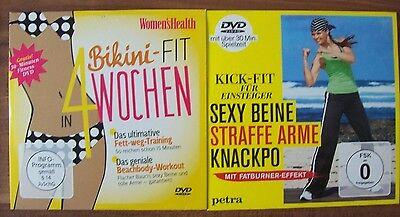 Bikini-Fit in 4 Wochen /Kick - Fit  - 2 DVDs