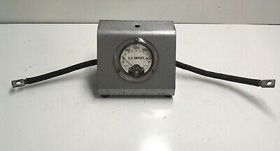 Vintage Inline Dc Amperes Meter W-8061a-6