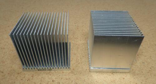 Heat sinks, aluminum, 2 pieces