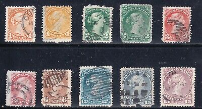 CANADA STAMP USED STAMPS COLLECTION LOT