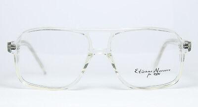 ETIENNE NAVARRE HEINRICH Original Brille Eyeglasses Transparent Quadrat Aviator