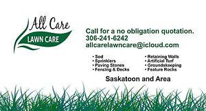 All Care Landscaping Fencing Decks Sprinkler Tree Removal