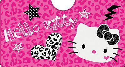 SANRIO PINK CAMOUFLAGE HELLO KITTY STAR & HEART CAR SUNSHADE For SUV (100% New)