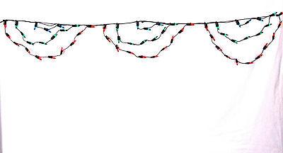 Navidad Luces Multicolor 80 Cortina Interior/Exterior Estático 0586