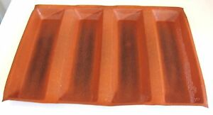 Restaurant-Quality-Silpat-Silicone-Bread-Pan-Loaf-Form-foot-long-sandwich-rolls