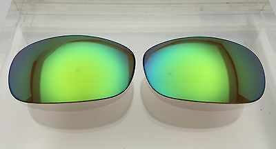 Costa Del Mar Fathom Custom Replacement lenses Green Mirror with Bronze (Custom Costa Del Mar)