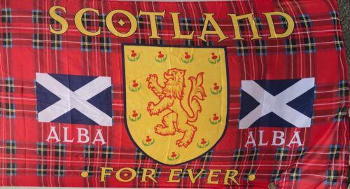 Scotland Forever Alba  Scottish Saltire flag 150 x 80cm