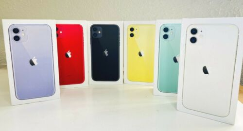 Apple iPhone Box Empty Original iPhone 11 Pro Max, 11 Slim, XS, XS Max, XR, SE