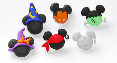 Mickey & Minnie Halloween Hats / Disney Collection ~ Dress It Up Buttons](Halloween Buttons)