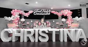 Party Hire, Name Table and Prop Hire, Weddings, Birthdays Sydney City Inner Sydney Preview