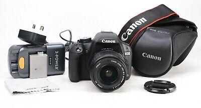 Canon EOS 500D DSLR Camera + EF-S 18-55mm II Zoom Lens Kit  LOW 773 Shots