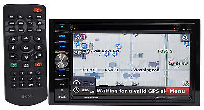 "Boss Audio BV9378NV 6.5"" In-Dash 2-Din DVD Receiver w/Bluetooth/Navigation/MP3"