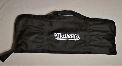 Nathans Famous Hot Dogs Coney Island 11 Piece Bbq Tools Set   New