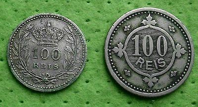 Portugal 2 x 100 Reis 1900/1910