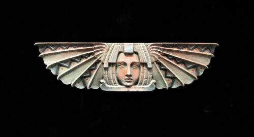 EGYPTIAN FOSSIL  ART DECO ARTS AND CRAFTS ELLISON TILE