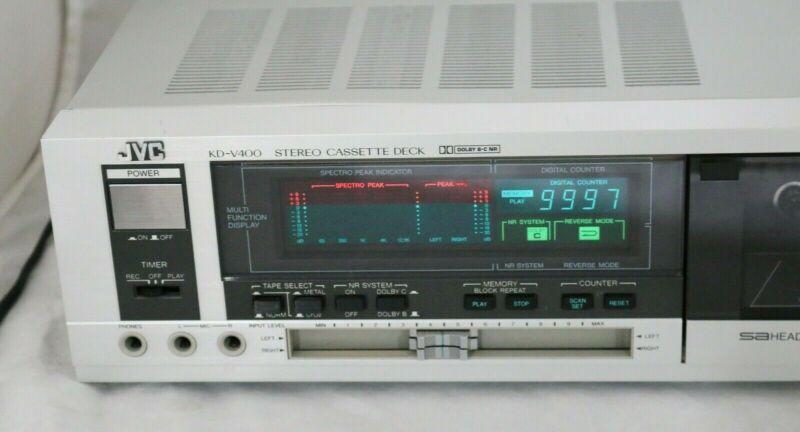 Vtg 1983 JVC KD-V400 Home Cassette Deck Dolby B C NR