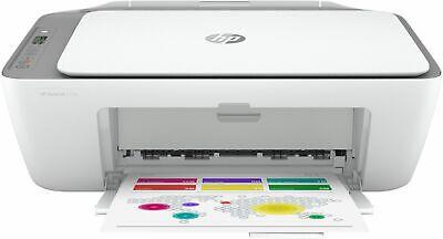 HP - DeskJet 2755 Wireless All-In-One Instant Ink-Ready Inkjet Printer - White