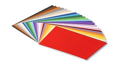 50 Blatt  Tonpapier farbsortiert DIN A4 130 g/qm,bastelpapier,