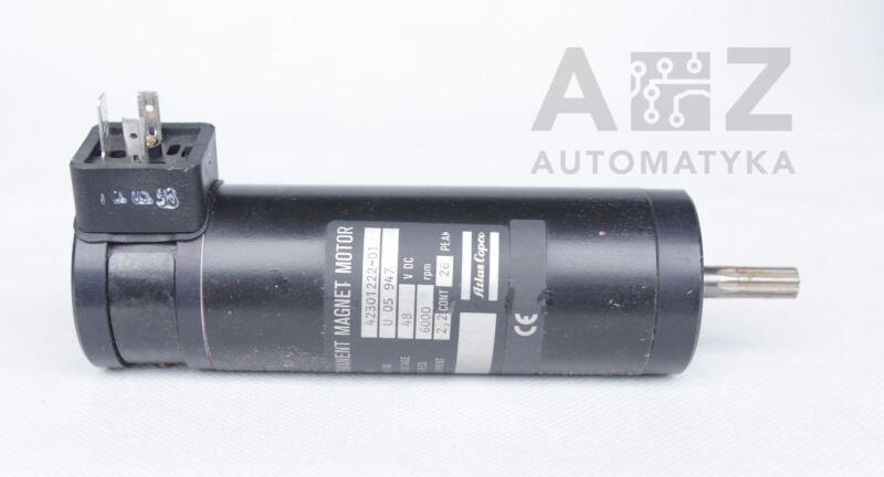 ATLAS COPCO DC MOTOR 48VDC 6000rpm 42301222-01