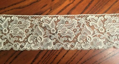 c1900 Fine Lace Yardage from Germany 23' X 3 1/2""
