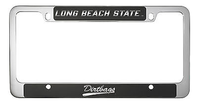 State University Long Beach Framed (Long Beach State University -Metal License Plate)