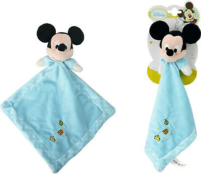 Simba Disney Schnuffel Tuch Baby Mickey Micky Maus blau Plüsch Schmuse NEU