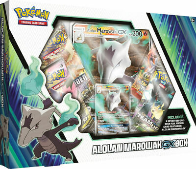 Pokemon TCG: Alolan Marowak GX Box