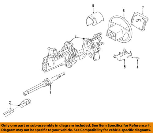 ford f 150 steering column diagram