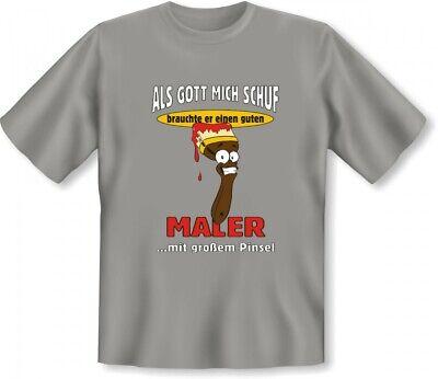 Lustiges T-Shirt zum Geburtstag für Maler - Witzige Geschenk Idee für Handwerker