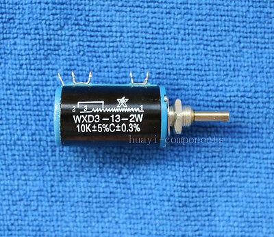 2pcs Wxd3-13-2w 10k Ohm Multi-turn Wirewound Potentiometer 10k Ohm
