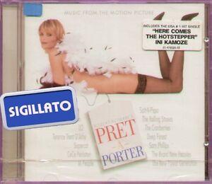 """THE ORIGINAL SOUNDTRACK """" PRET A PORTER """" CD SIGILLATO 1994 - Italia - L'oggetto può essere restituito - Italia"""